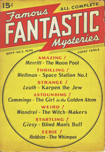 Famous Fantastic Mysteries First Issue 1939