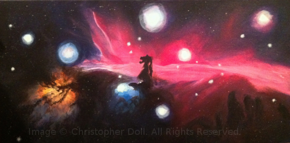 Orion. Image Copyright © Christopher Doll. All Rights Reserved.