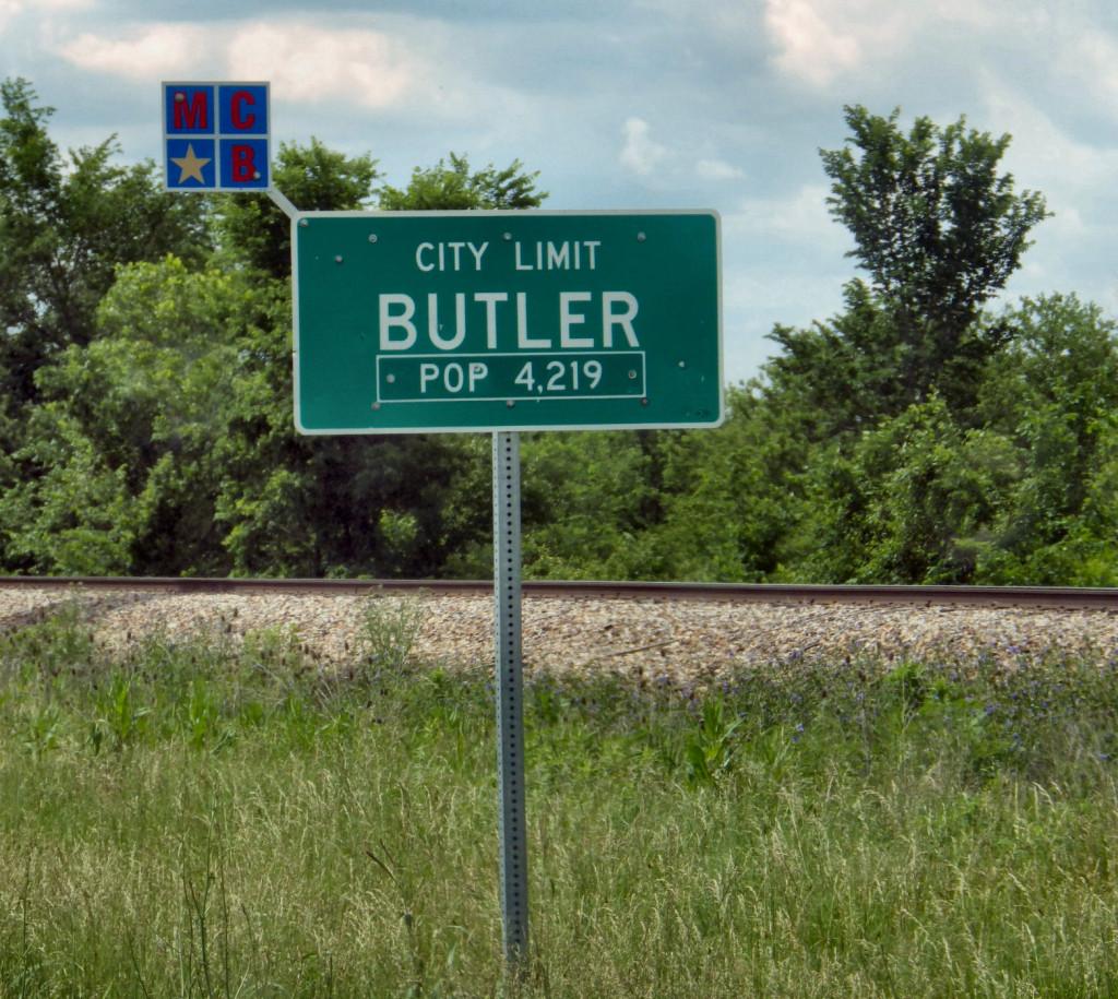 Butler City Limits © 2013 Steve Fahnestalk
