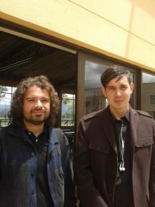 Luis Cermeño y Andrés Felipe Escovar