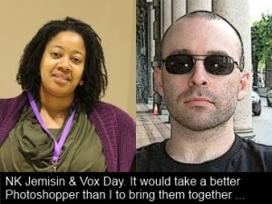 NK Jemisin and Vox Day