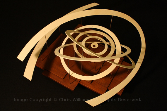 Orrery. Image Copyright  © Chris Williams.  All Rights Reserved
