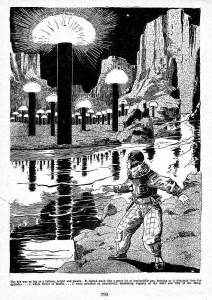 The Metal Man Illustration by Frank R. Paul