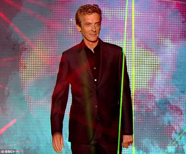 Peter Capaldi officially becomes the new Doctor