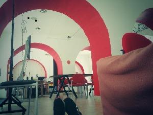 El espacio del Diferencial en el Centro Arte Contemporáneo Quito.