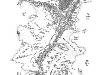 Fantasy Cartography for Writers (part 1)