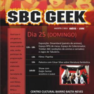 News That Can't Wait For Sunday:  the (Free) SBC Geek Festival