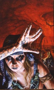 "Gary Ruddell ""Sugar Rain"" cover painting for"