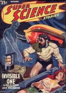 Super Science Stories - September 1940 cover