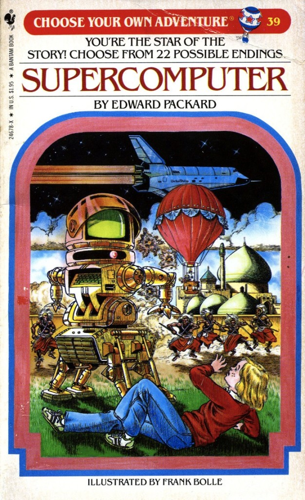 Edward Packard's Supercomputer: the Best of the Choose-Your-Own-Adventure books