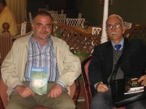 José Joaquín Ramos con Antonio Mora Vélez