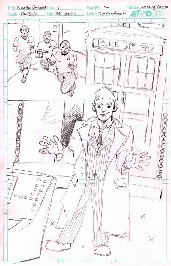 Who preliminary sketch