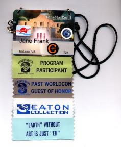 My badge at LSC3.