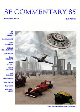"""SF Commentary 85 Cover by """"Ditmar"""""""