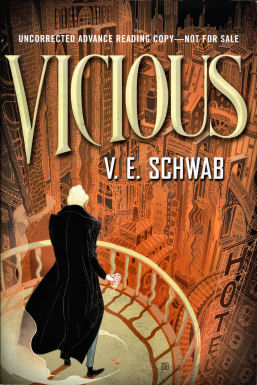 Vicious by V.E. Schwab, cover image