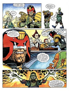 glenn fabry and alan grant. judge dredd. page. 004