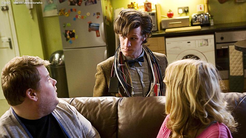 Doctor Who - sofa