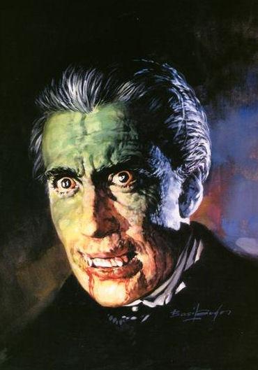 Basil Gogos - Dracula-8x6