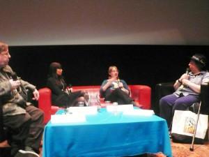 Con Jo Walton, Michael Cobley y Hannele MIkaela Taivasalo. Moderadora: Ylva Spangberg