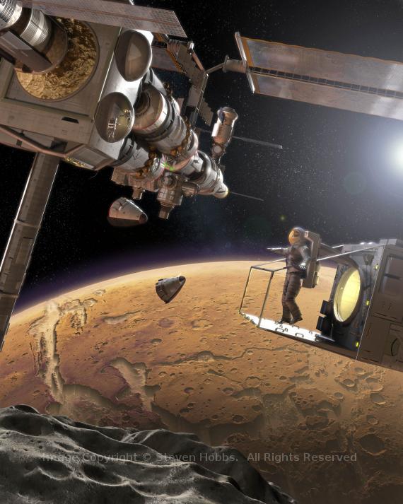 Phobos station wm