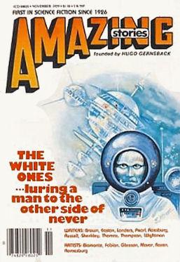 Amazing, Nov. 1979 - Cover by Elinor Mavor
