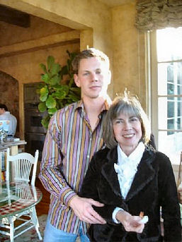 Chris Rice and mother Anne