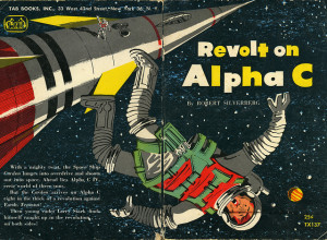 Revolt on Alpha C by Robert Silverberg