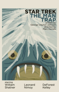 The Man Trap from Star Trek - The Art of Juan Ortiz