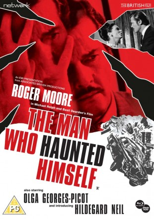 The Man Who Haunted Himself BD cover