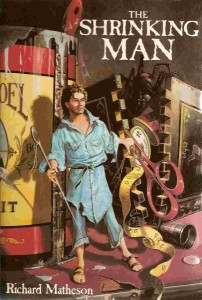 The Shrinking Man Doubleday Book Club cover