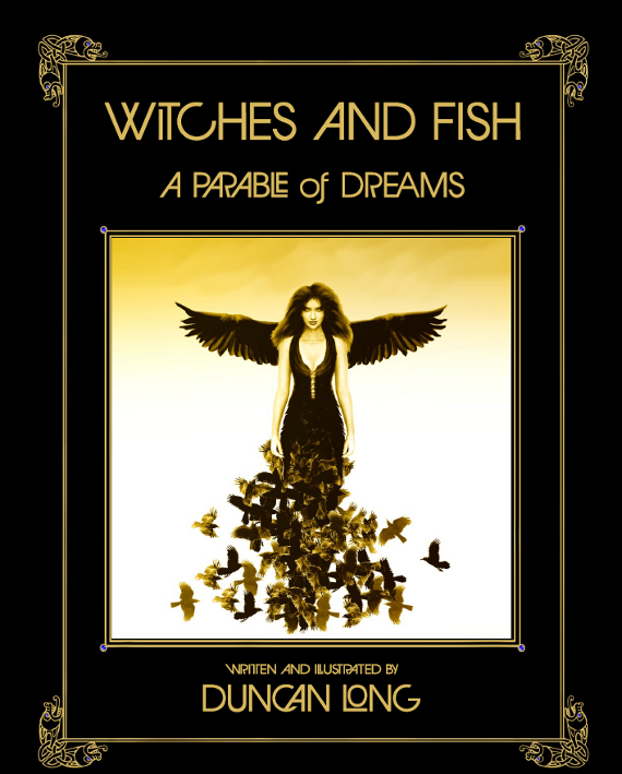 witches and fish cover