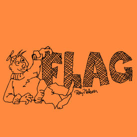 FLAG logo by Ray Nelson