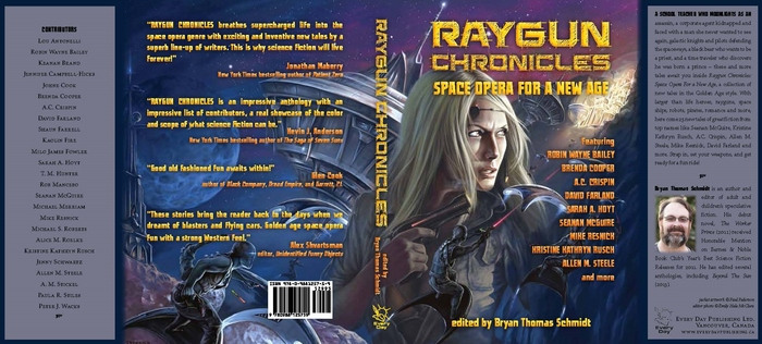 Raygun Chronicles hardcover dust jacket