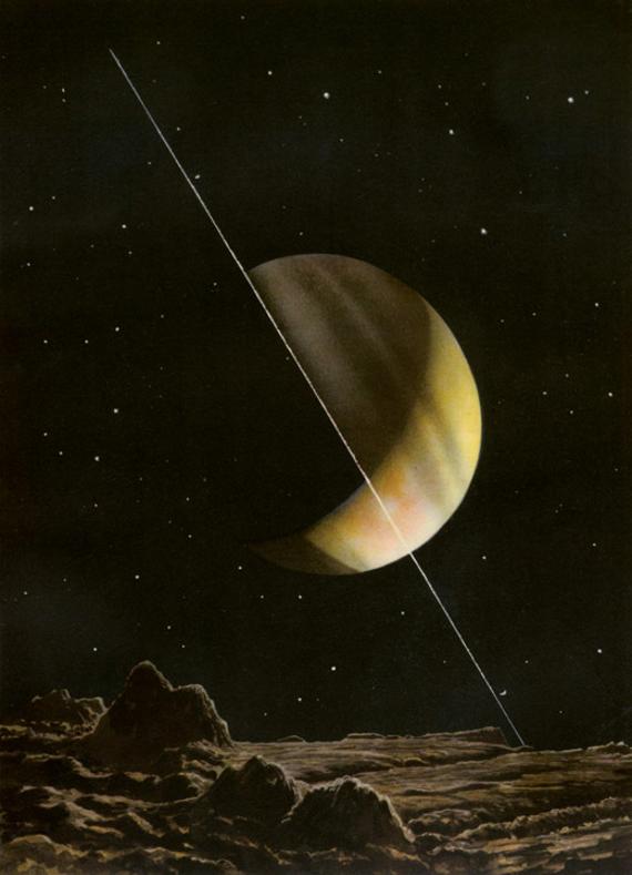 amazing - rudaux - saturn from rhea 1937 (1)