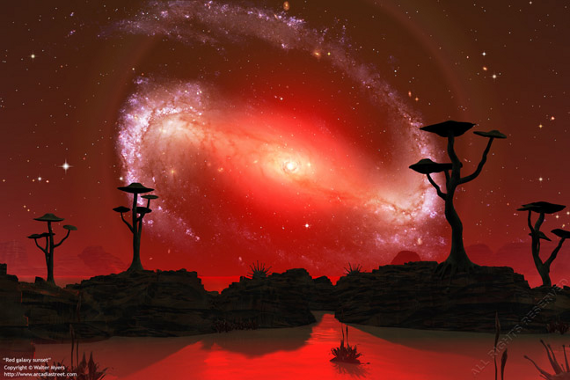 amazing - walt myers - red_galaxy_sunset (1)