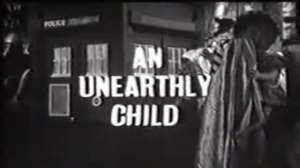 dr who title card