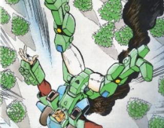 A veteran of the Robotech wars