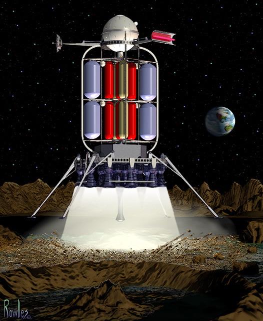 Moonship Touchdown