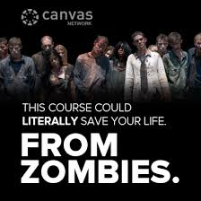 Canvas - The Walking Dead