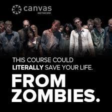 Canvas - The Walking Dead
