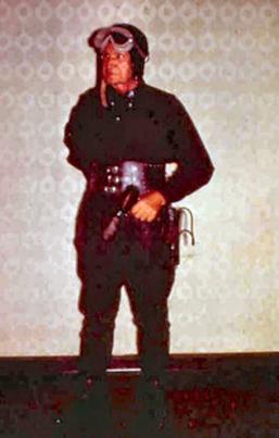 Photo 2a Caption E.E. 'Doc' Smith as Northwest Smith in 1962 at Chicon II