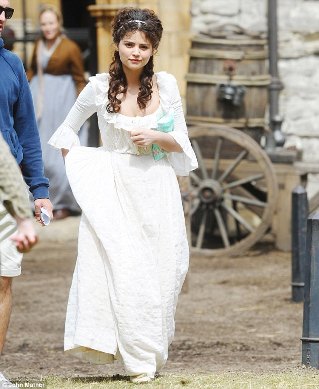 Jenna Louise Coleman in Death Comes to Pemberley