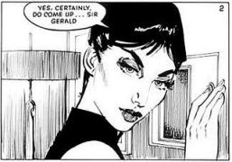 Modesty (Comic strip image) by Jim Holdaway