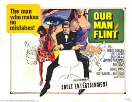 Our Man Flint poster 1966
