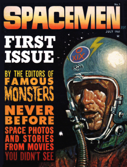 Spacemen 1 Cover by Basil Gogos