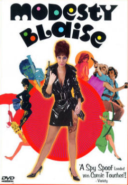 Modesty Blaise movie DVD cover