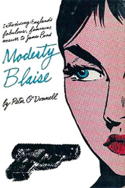 Photo 4: American First Edition of Modesty Blaise book