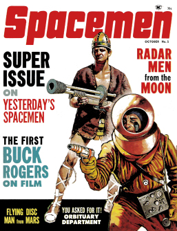 Spacemen 5 Cover by Basil Gogos