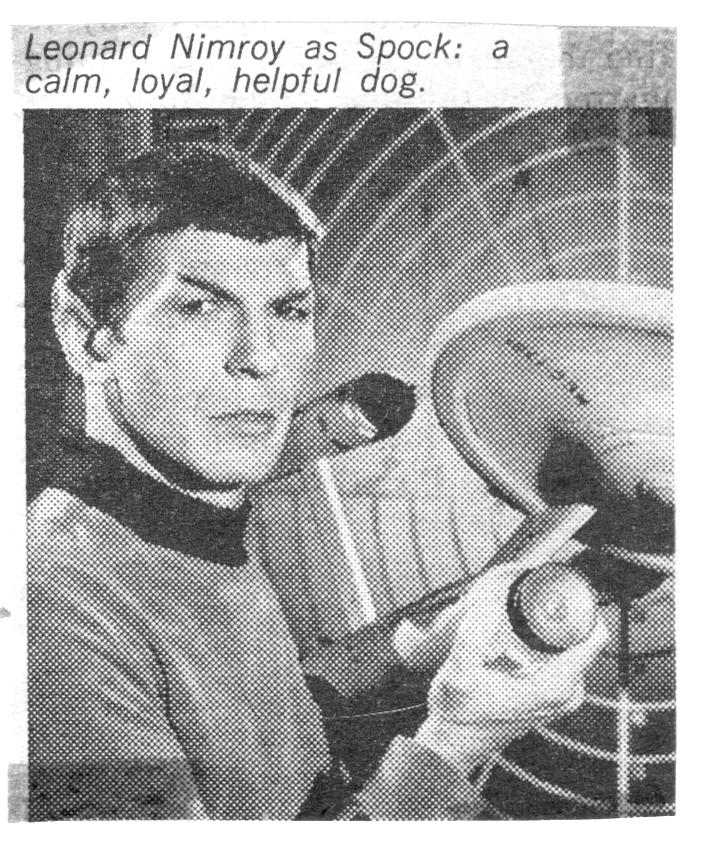 RG Cameron Dec 20 Illo #1 Spock as dog