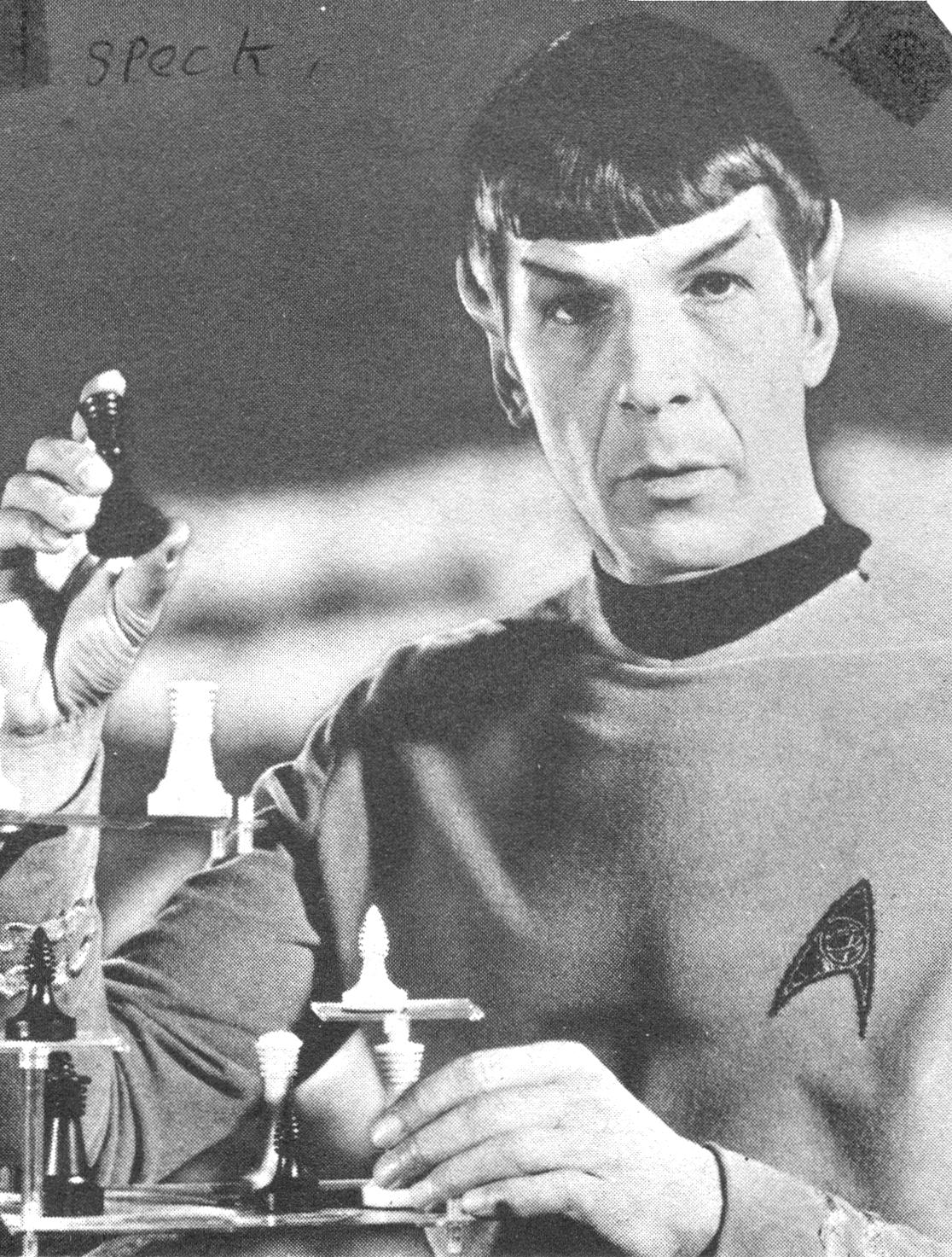 RG Cameron Dec 20 Illo #4 Spock very smart